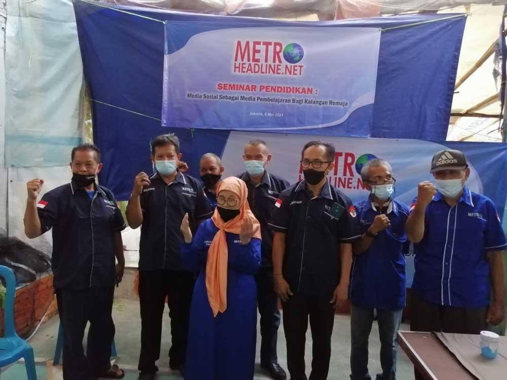 Metroheadline.net Rayakan Hut Ke 5 Gelar Tasyakuran Serta Santuni Yatim Dan Dhuafa
