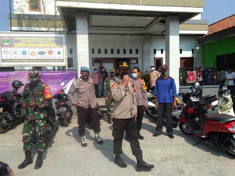 Polisi Perketat Lokasi TPS Pilkades PAW Desa Rawa Rengas