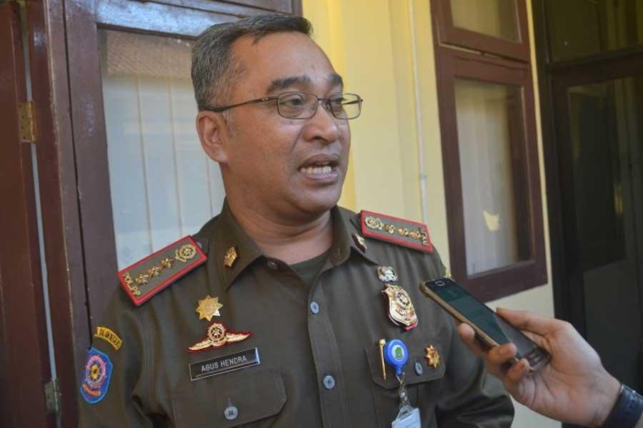 Satpol PP Kota Tangerang Bantu Pengamanan Tes Cepat Antigen Di Pasar Tradisional