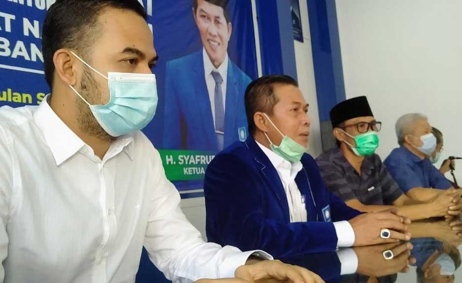 Dede Rohana Putra Penuhi Undangan DPW PAN Banten