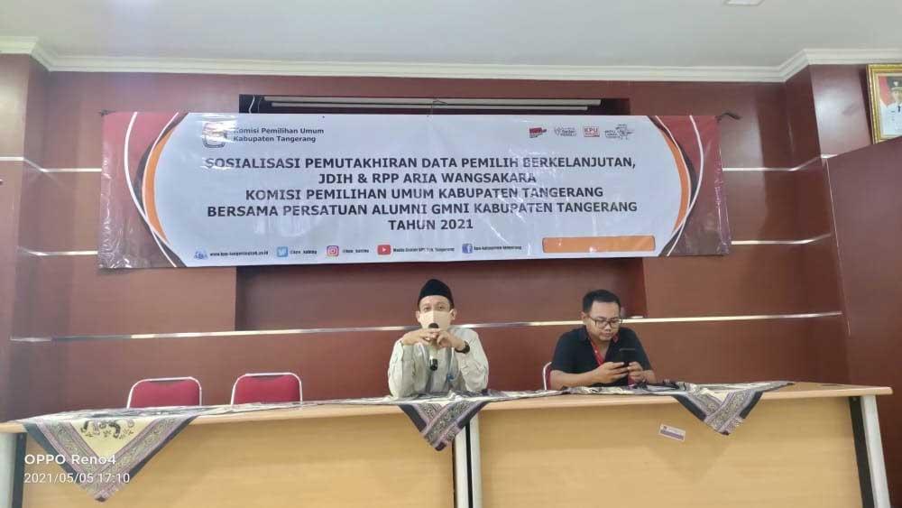 Wakil Ketua PA-GMNI Kabupaten Tangerang: Demokrasi Hakekatnya Kedaulatan Rakyat Dan Berada Di Tangan Rakyat
