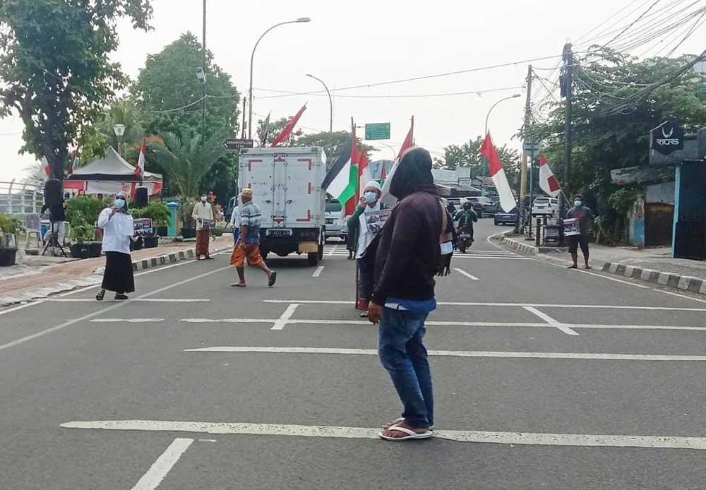 Warga Babakan Galang Dana Untuk Solidaritas Palestina