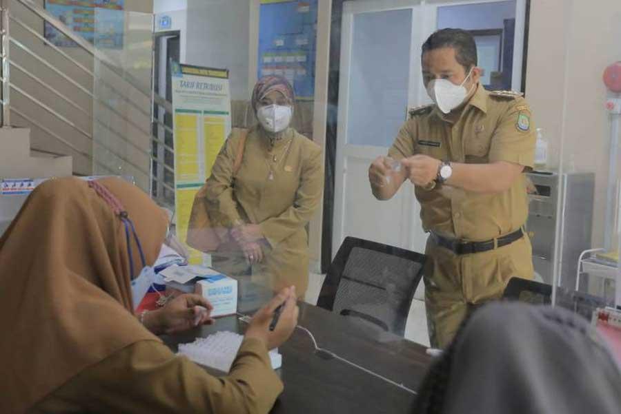 Bantu Administrasi dan Pendataan, Wali Kota Perbantukan ASN di Labkesda