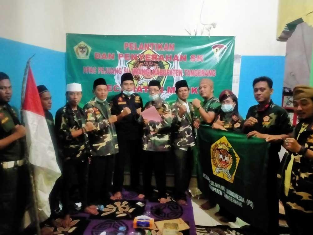 DPAC PSI Kecamatan Mauk Resmi Dilantik