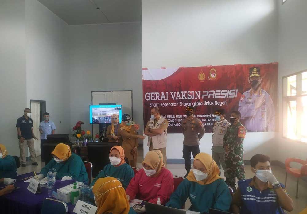 Hari ini, Pemkab Tangerang Adakan Vaksinasi Covid-19 Serentak