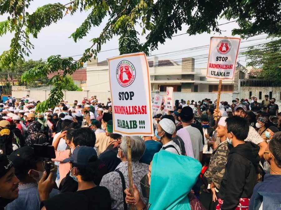 Kuasa Hukum Habib Rizieq: Sampai Jumpa di Pengadilan Akhirat