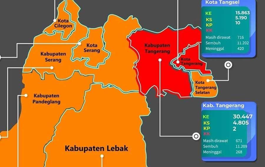 Pemkab Tangerang Perpanjang PPKM Mikro