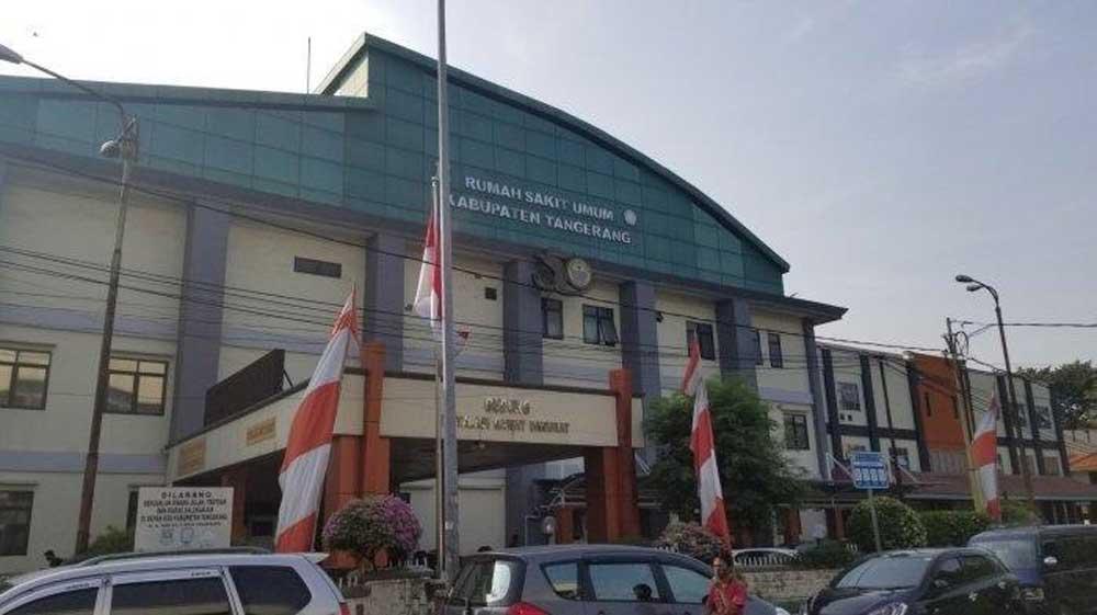 Ruang perawatan Covid-19 di RSUD Kabupaten Tangerang overload