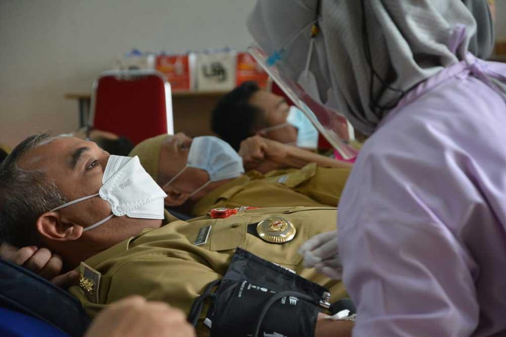 PMI Kabupaten Tangerang Wujudkan 10.000 Kantong Darah