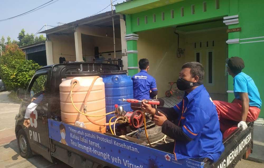 PMI Bersama Karang Taruna Kecamatan Tigaraksa