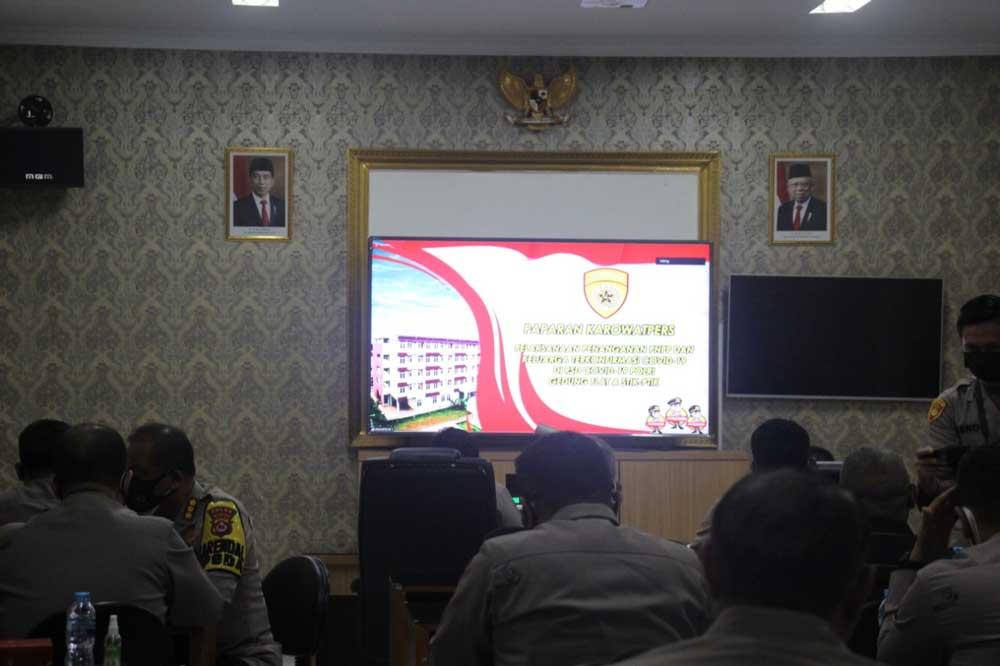 Polda Banten Siapkan Tempat Isoman Untuk Anggota Polri Dan PNS Polri yang Terkonfirmasi Positif Covid-19