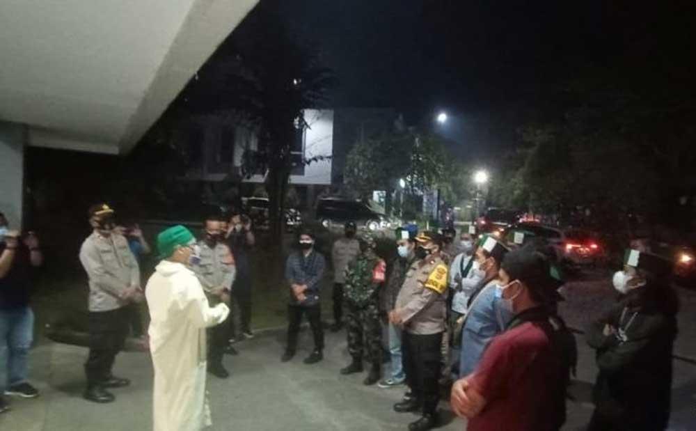Polresta Tangerang Beri Pembinaan Belasan Mahasiswa HMI yang Gelar Unras di Tengah Pandemi Covid-19