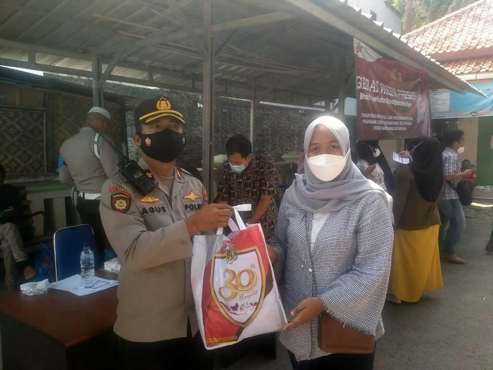 Usai di Vaksin, Warga Cipocok Jaya