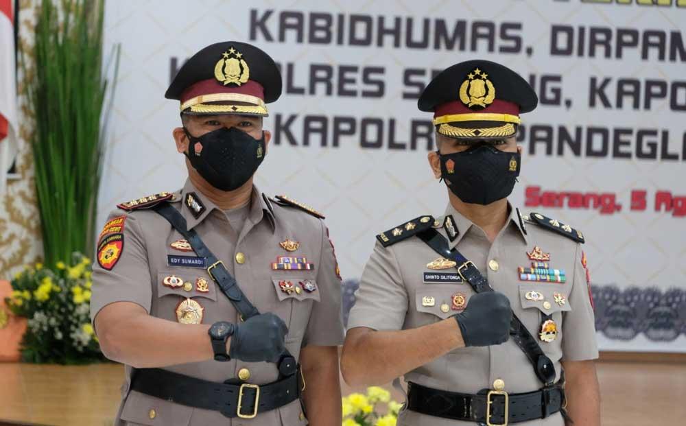 AKBP Shinto Silitonga Resmi Gantikan Kombes Pol Edy Sumardi Sebagai Kabid Humas Polda Banten