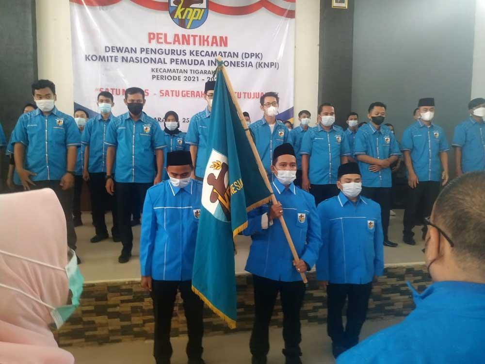 DPK KNPI Kecamatan Tigaraksa Periode 2021-2024 Resmi Dilantik