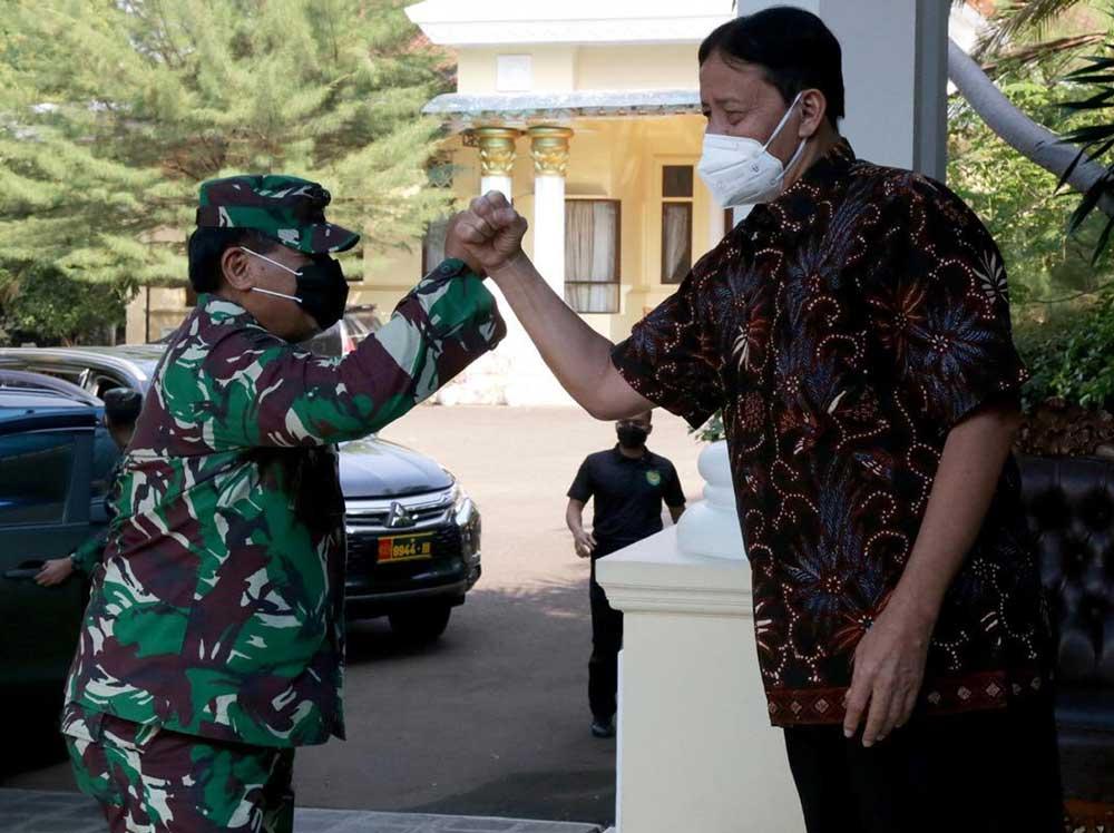 Gubernur Banten Terima Kunjungan Pangdam III/Siliwangi
