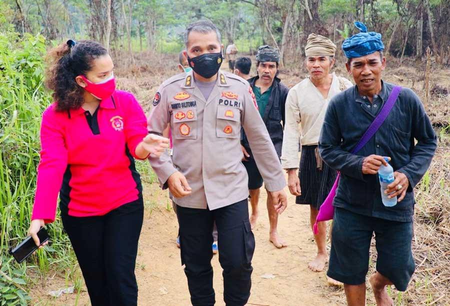 HUT RI Ke-76, Kabidhumas Polda Banten Temui Jaro Saija