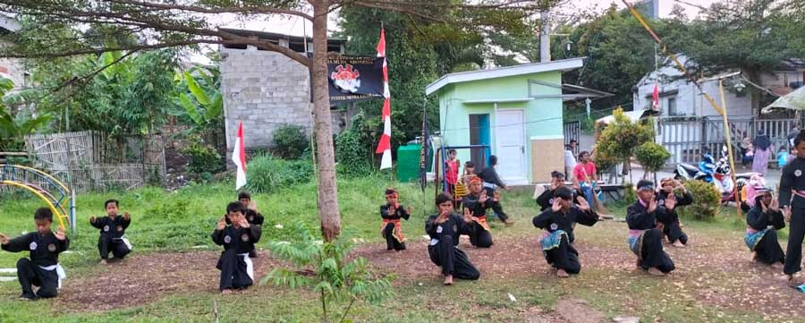 Perguruan Pencak Silat Putra-Putri Perum Grand Pasirnangka