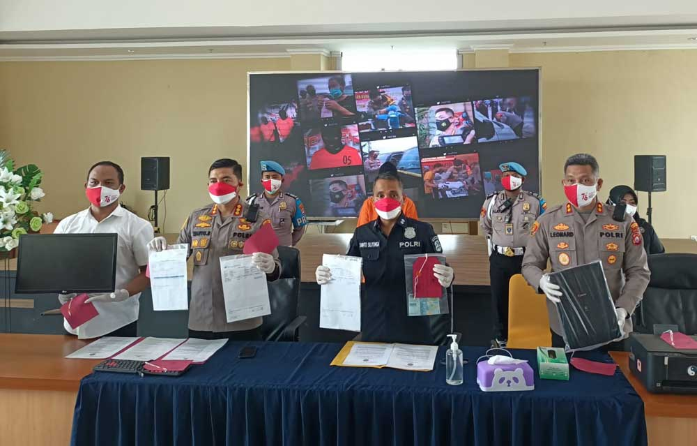 Polisi Tangkap Pemalsu Surat Keterangan Hasil Swab Tes Antigen Di Kabupaten Tangerang