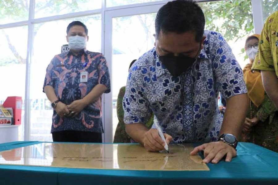 Wali Kota Tangerang Resmikan Sentra Produk UMKM Baru di Kelurahan Nusa Jaya