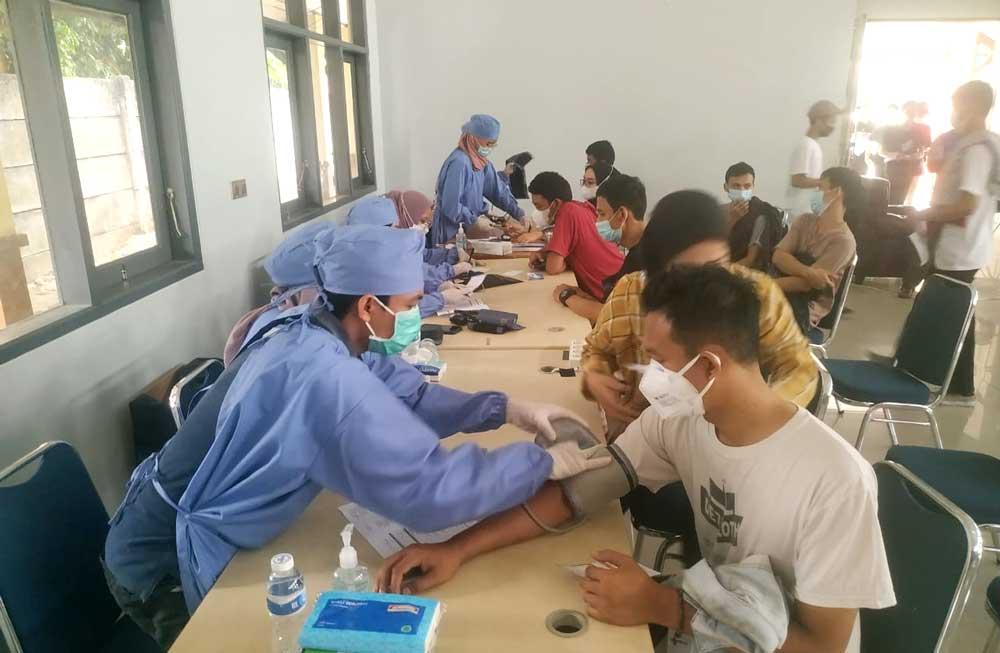 Bangun Herd Immunity, Lintas CSO Tangerang Gelar Vaksinasi Massal Tahap Kedua