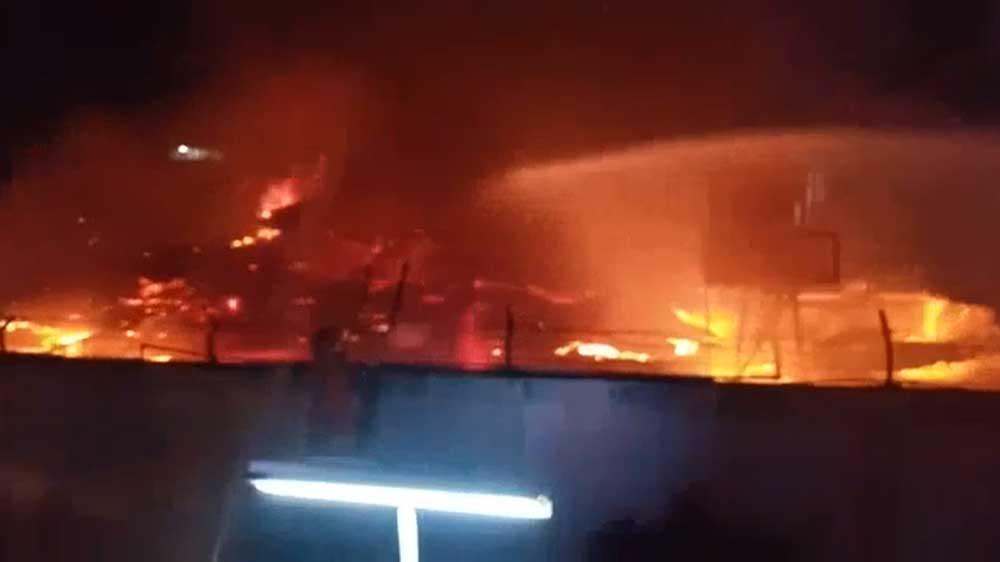 Blok C Lapas Kelas I Tangerang Terbakar, 41 Orang Dikabarkan Tewas