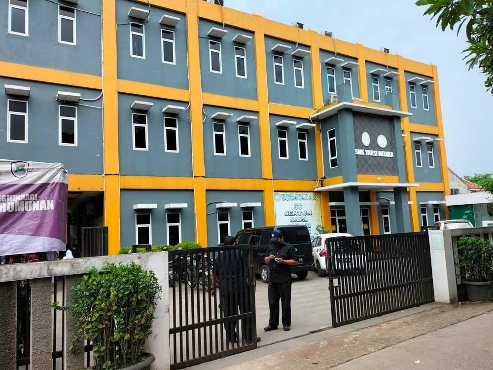 Gandeng Koramil 06/Tigaraksa, SMK Yarsi Sukses Gelar 1000 Vaksin