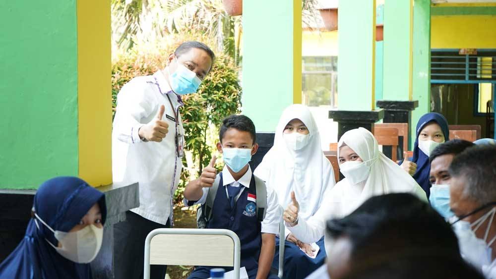 Soal PTM, Dinas Pendidikan Tunggu Arahan Satgas Kabupaten Tangerang