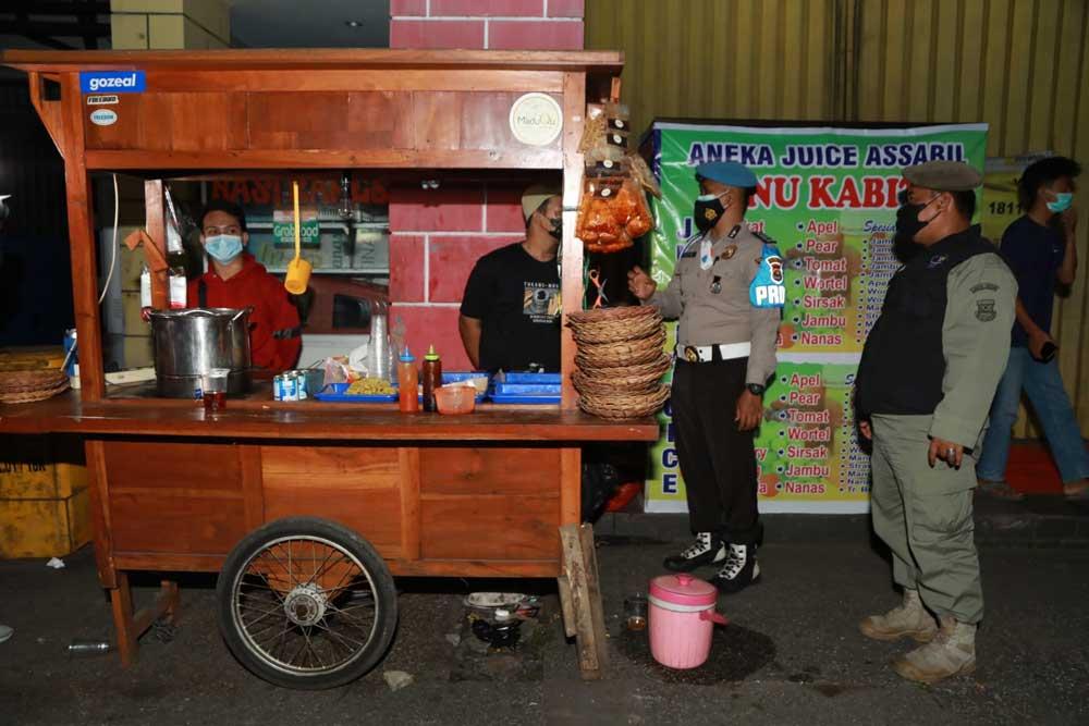 Tegakkan PPKM Level 3, Polresta Tangerang Laksanakan Patroli Skala Besar