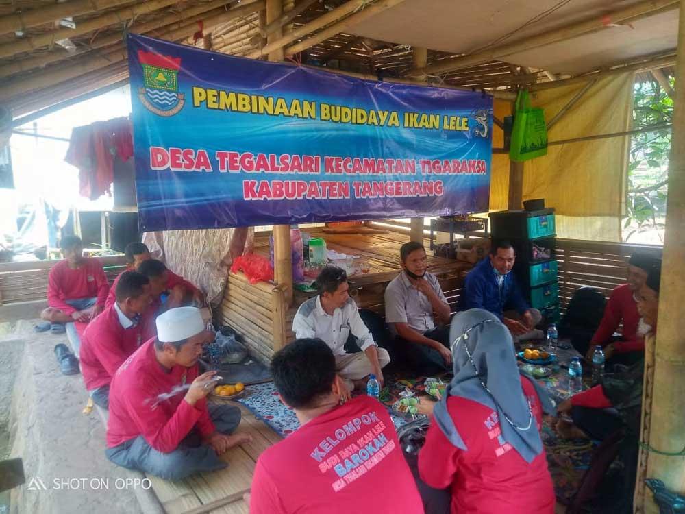 Tingkatan Ekonomi Masyarakat, Pemdes Tegalsari Adakan Pembinaan dan Pelatihan Budidaya Ikan Lele
