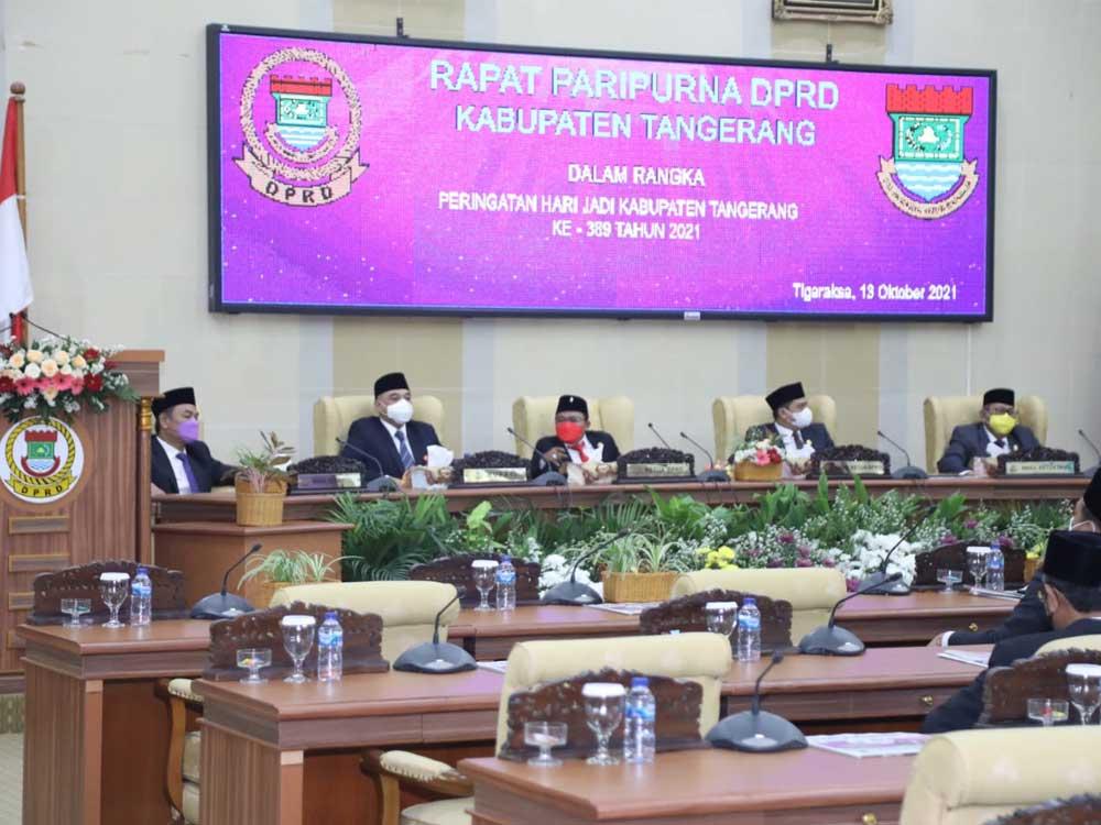 Peringati HUT Kabupaten Tangerang Ke-389